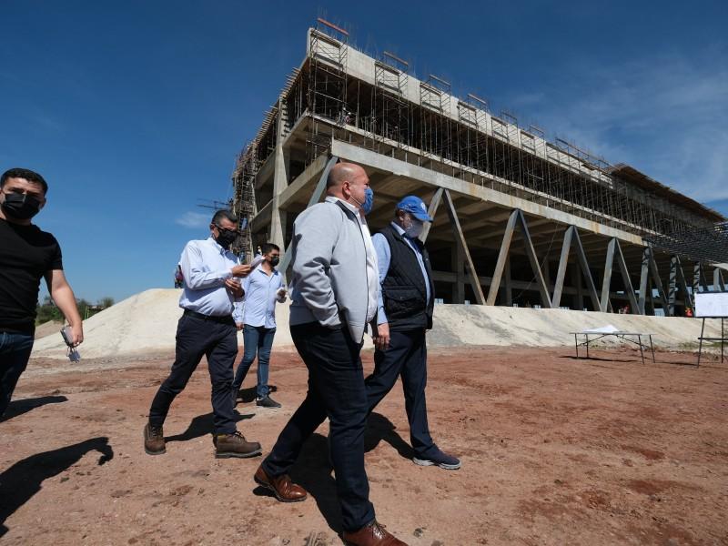 Avanza construcción del Hospital Civil de Oriente; invierten $239 millones
