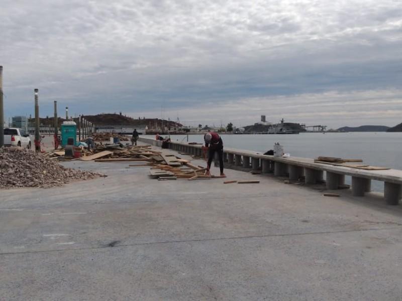 Avanza en un 90% rehabilitación del Malecón Turístico