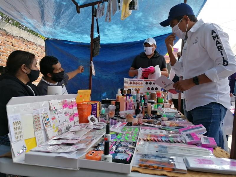 Avanza entrega de informe de actividades en Pedro Escobedo