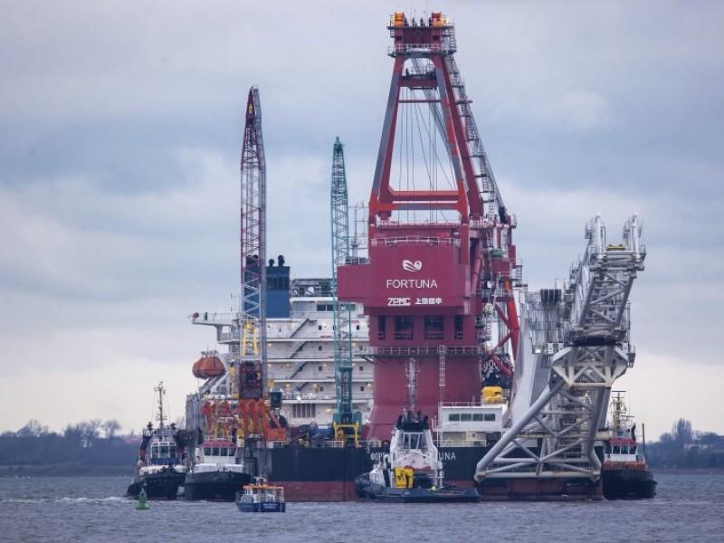 Avanza el gasoducto de la discordia entre Rusia y Alemania