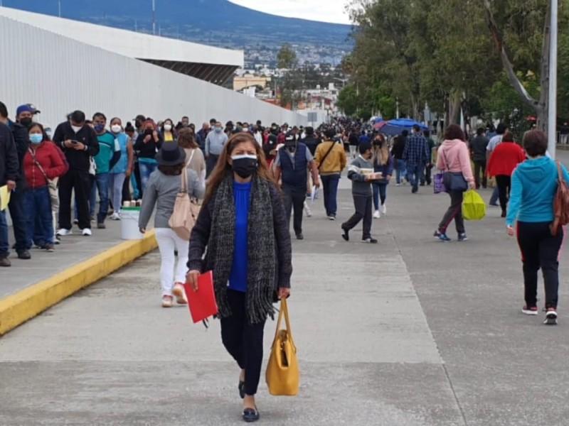 Avanza jornada de vacunación en Puebla Capital segundas dosis