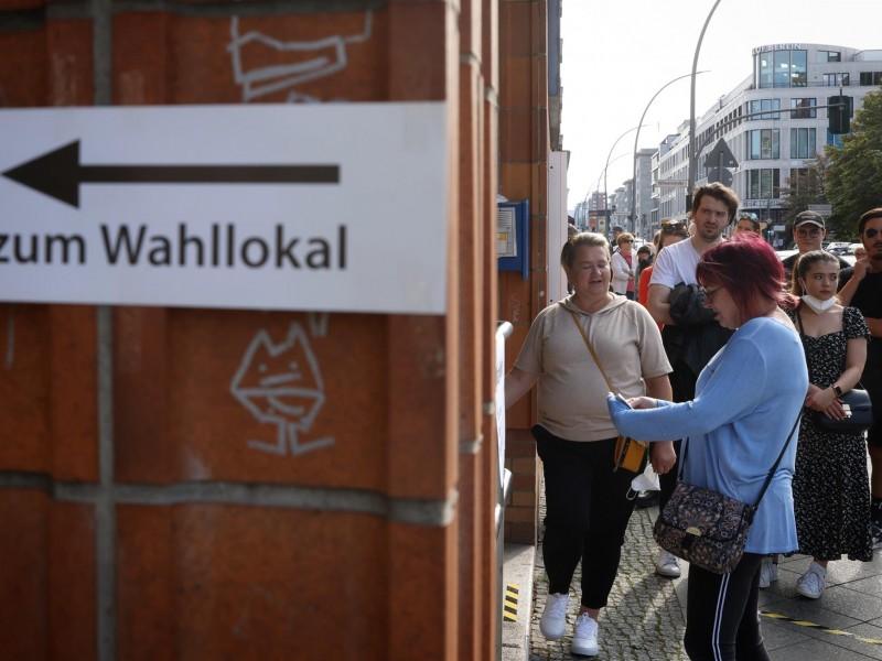 Avanza la jornada electoral en Alemania