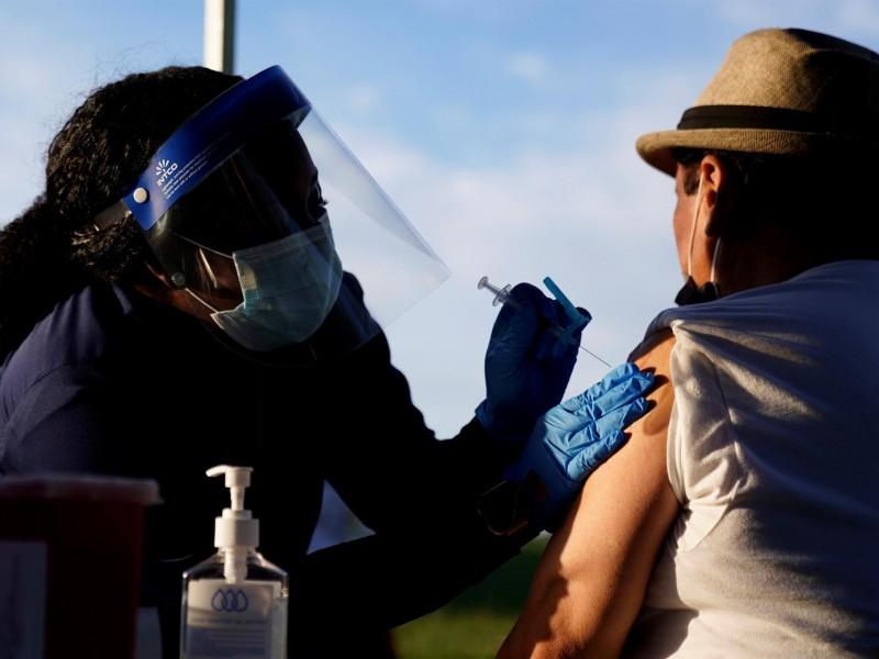 Avanza la vacunación en Estados Unidos