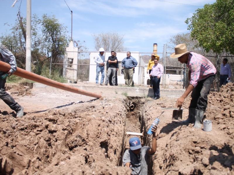 Avanza obra en calle Guillermo Prieto