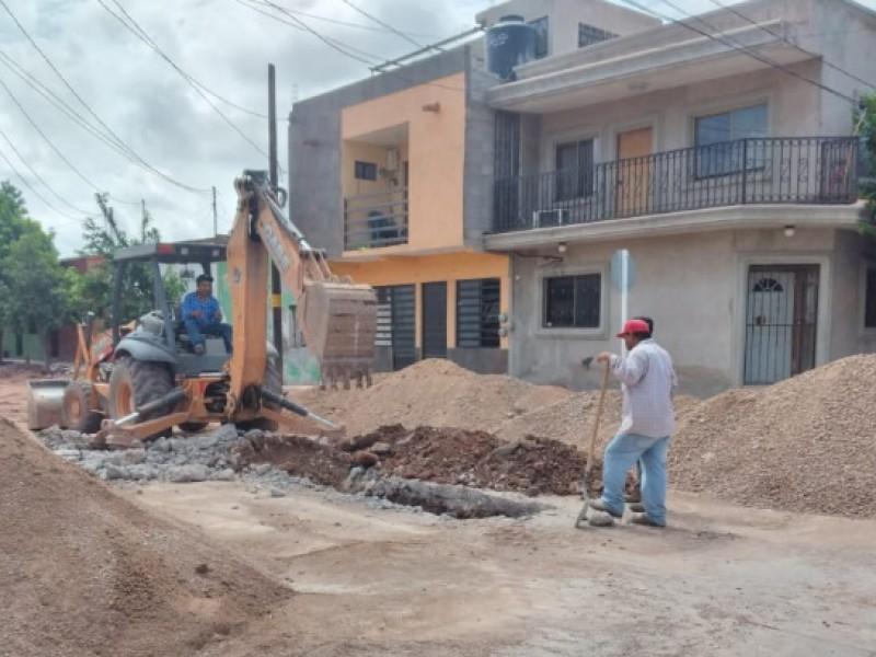 Avanza pavimentación de avenida 6 prevén culminar en noviembre