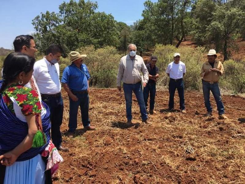 Avanza proyecto hidráulico para comunidad indígena de Santiago Tangamandapio