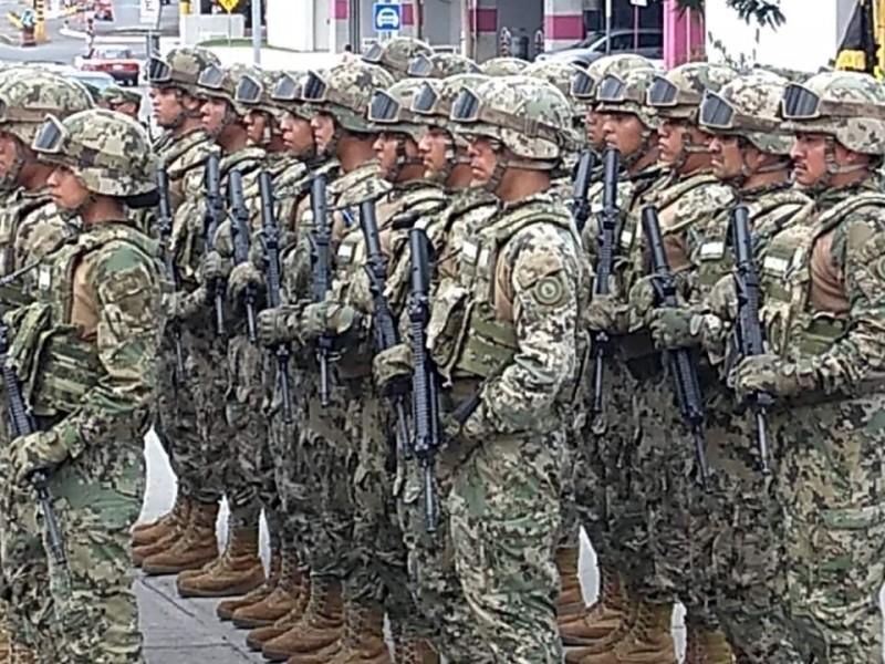 Avanza Reclutamiento para la Guardia Nacional