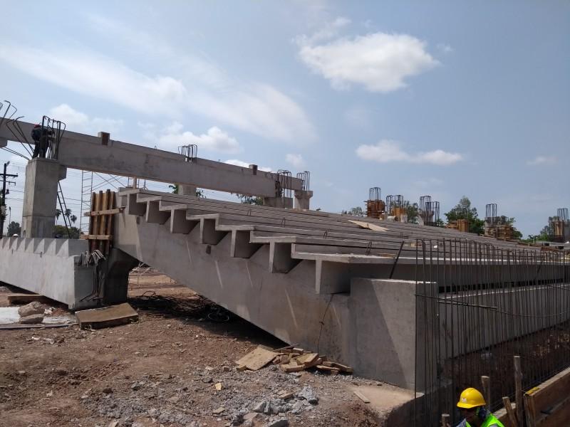 Avanza reconstrucción de Estadio Emilio Ibarra Almada