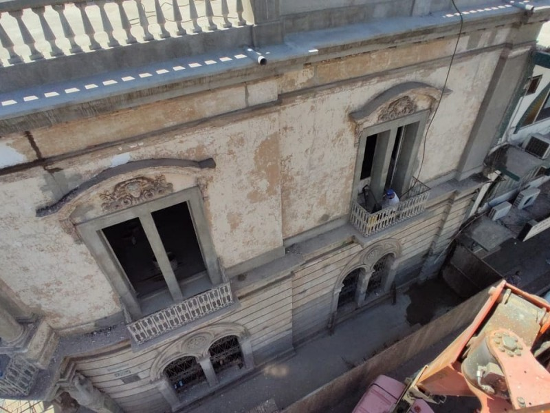 Avanza reconstrucción del Banco Nacional de México de 1904