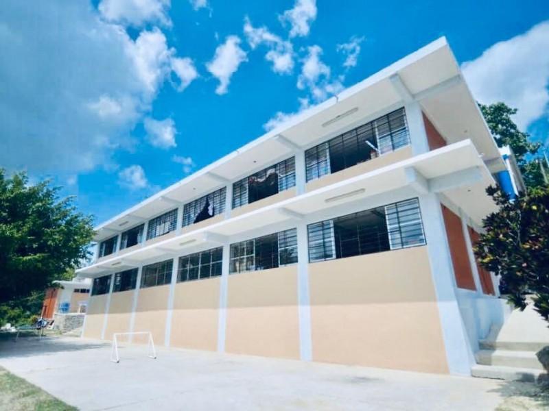 Avanza rehabilitación en escuelas