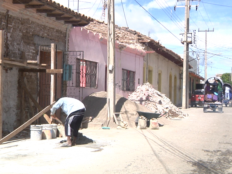 Avanza restauración de viviendas con valor patrimonial en Tehuantepec
