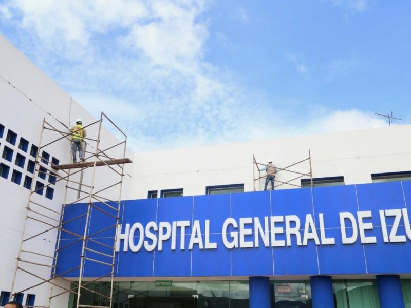 Avanza restauración en hospitales, excepto en San Alejandro