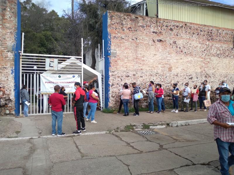 Avanza segundo día de vacunación en Salamanca