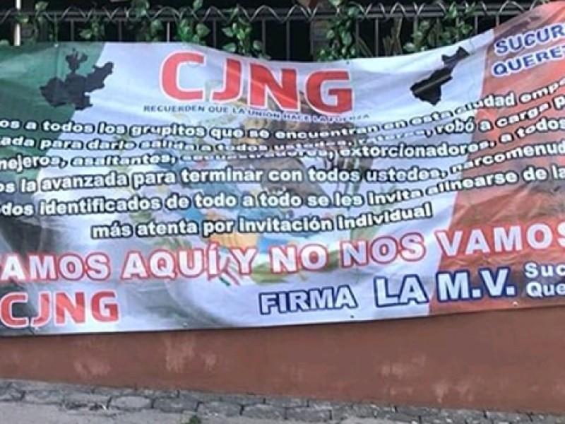 Avanzan investigaciones sobre #Narcomantas