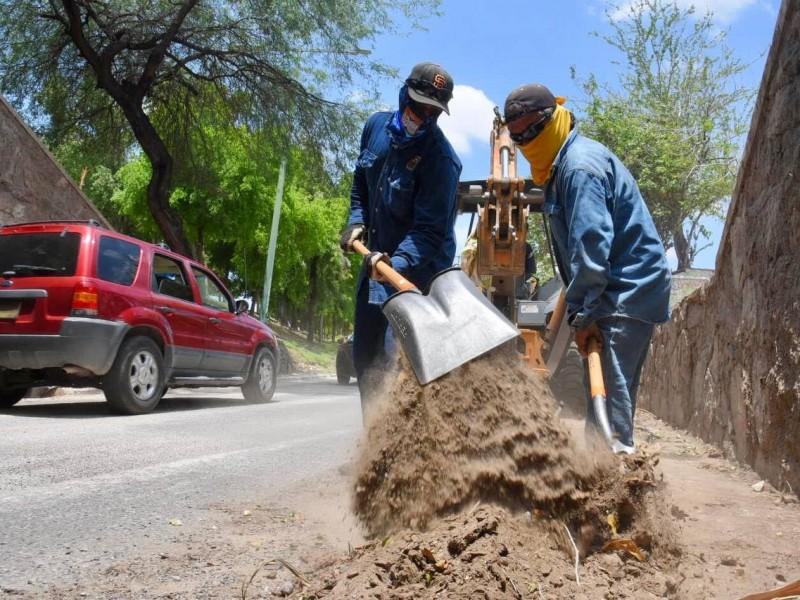 Avanzan trabajos para remediar daños por lluvias en Hermosillo