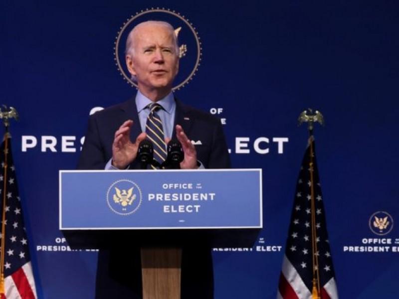 """No eran manifestantes"", sino ""terroristas domésticos"": Biden"