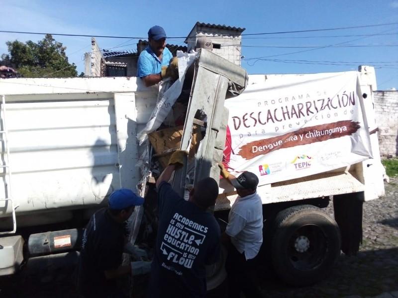 Ayto.  de Tepic traza rutas para descaharrizar la capital