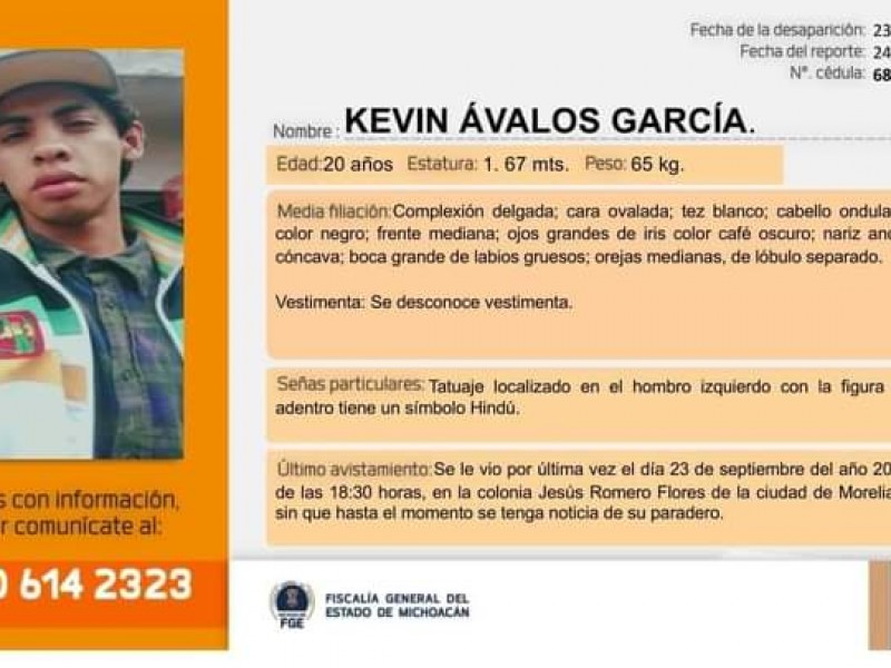 Ayuda para localizar a Kevin