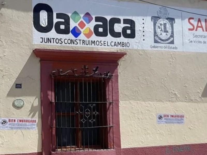 Ayuntamiento capitalino embarga oficinas de SSO