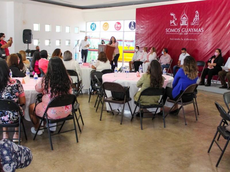 Ayuntamiento de Guaymas realiza actividades por mes rosa