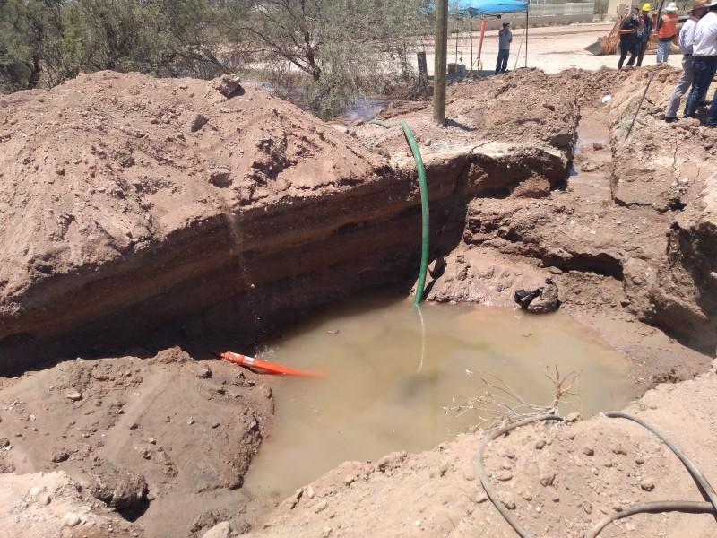 Repararán ruptura en tubería del Acueducto Independencia