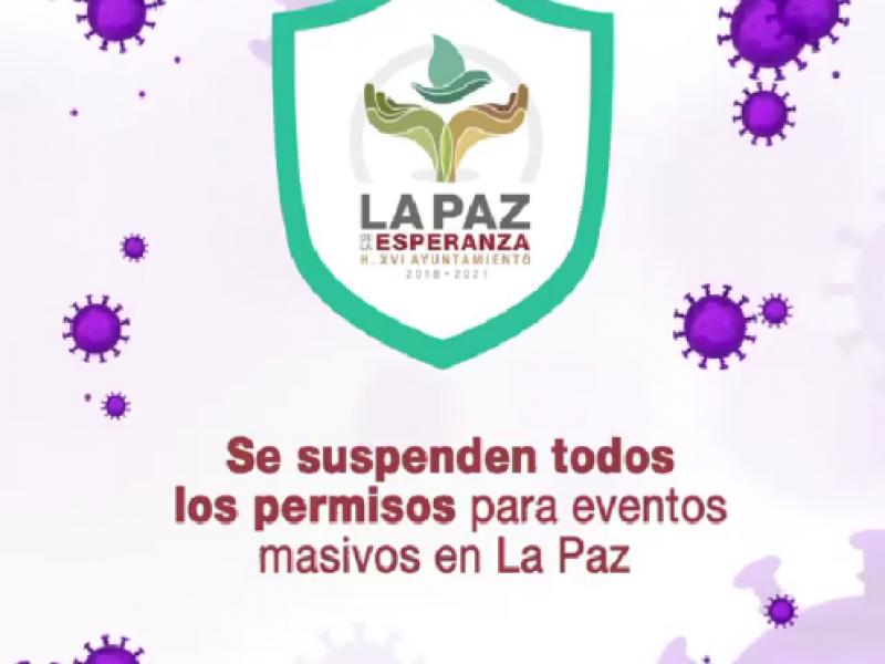 Ayuntamiento de La Paz implementó medidas ante COVID-19