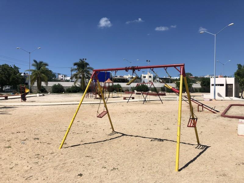 Ayuntamiento de Los Cabos inició rehabilitación de 200 parques
