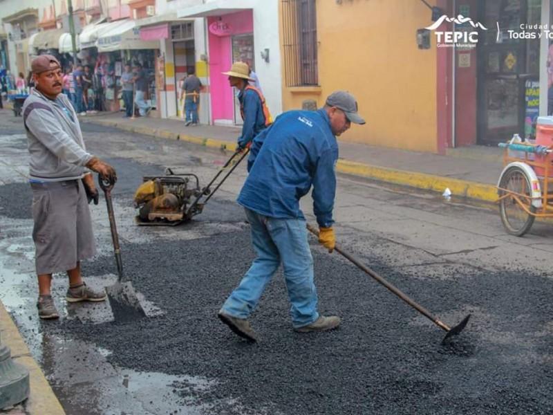 Ayuntamiento sin recursos para bacheo