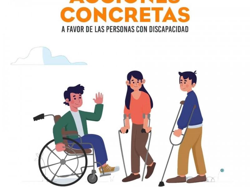 Ayuntamientos y Gobierno deberá otorgar espacios a personas con discapacidad