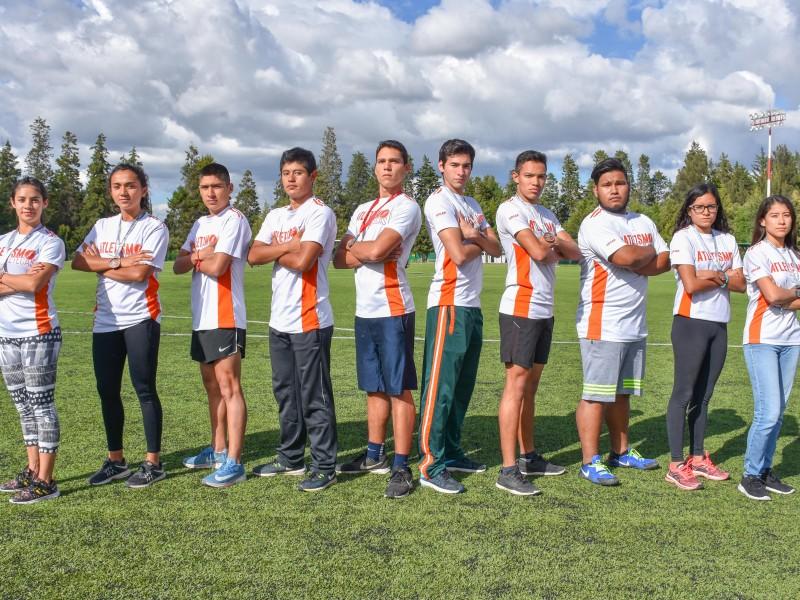 Aztecas de atletismo arrancaron temporada con todo