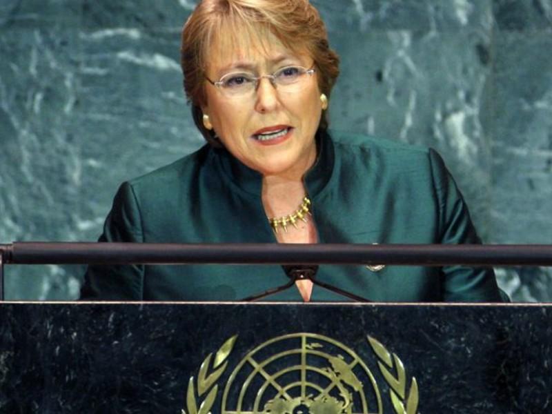 Bachelet, alta comisionada para derechos humanos: ONU