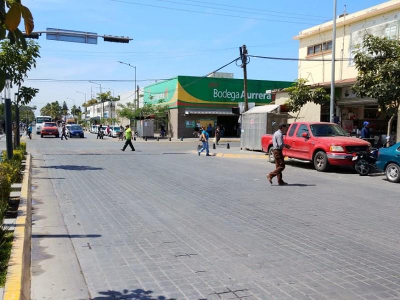 Baja 70% el  flujo vehicular en Los Mochis
