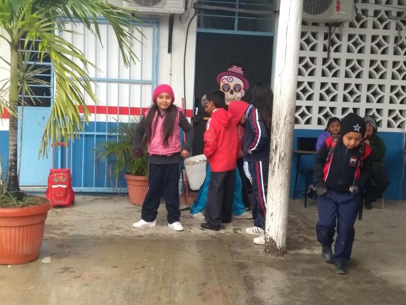 Baja afluencia de estudiantes en escuelas por FFN10