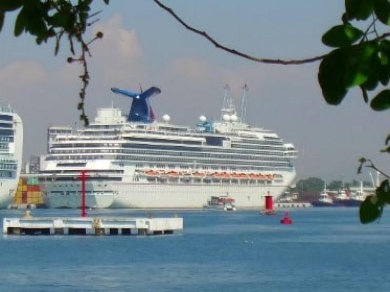 """Baja afluencia de turismo de cruceros """"pegará"""" a Mazatlán"""