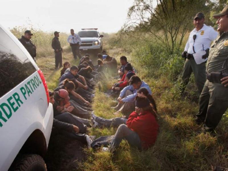 Bajan las detenciones de migrantes en la frontera