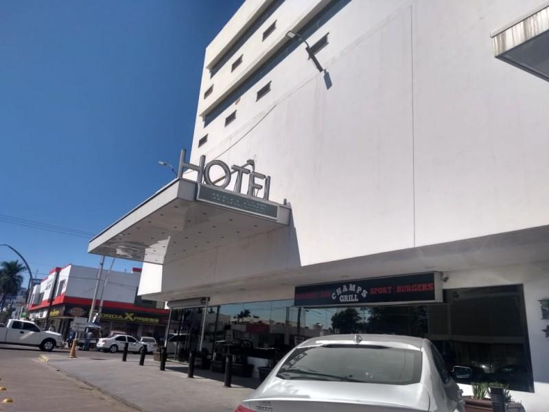 Baja en un 50 % ocupación hotelera por COVID-19