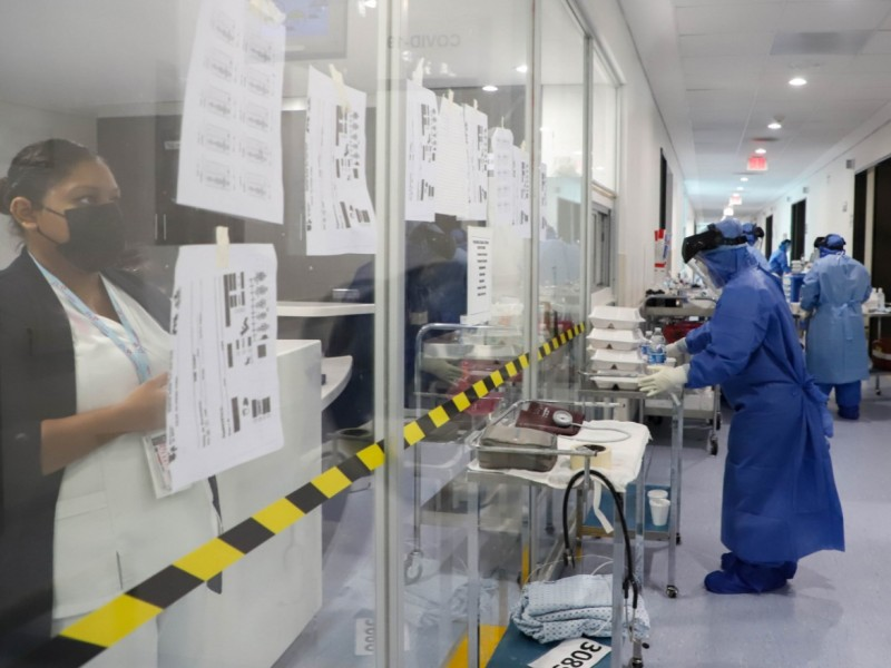Baja ocupación de camas covid-19 en hospitales de Lázaro Cárdenas
