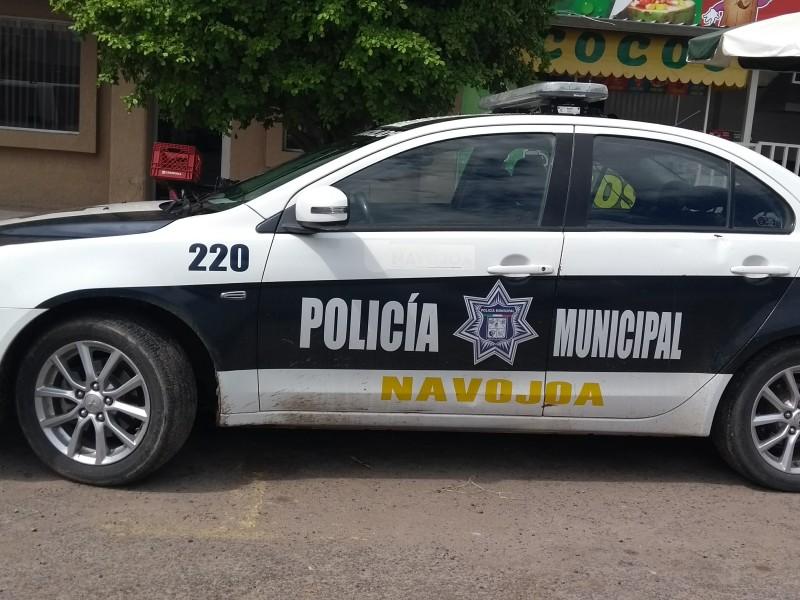 Bajan combustible a unidades policiacas de navojoa