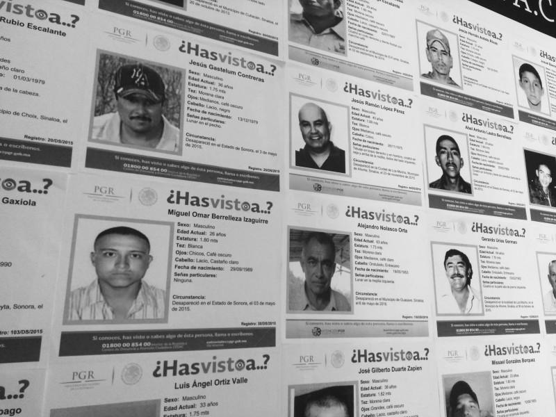 Bajan desapariciones forzadas, pero incrementan levantones por parte de policías