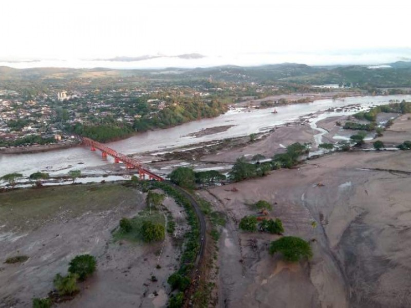 Bajan niveles de agua en Tecuala