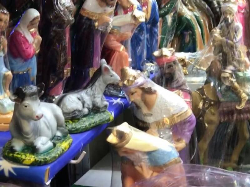 Bajan ventas para comerciantes de nacimientos