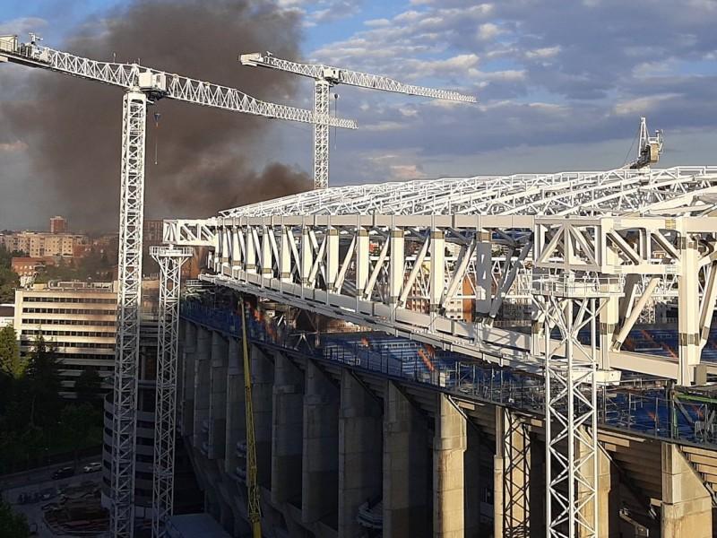 Bajo fuego el Santiago Bernabéu