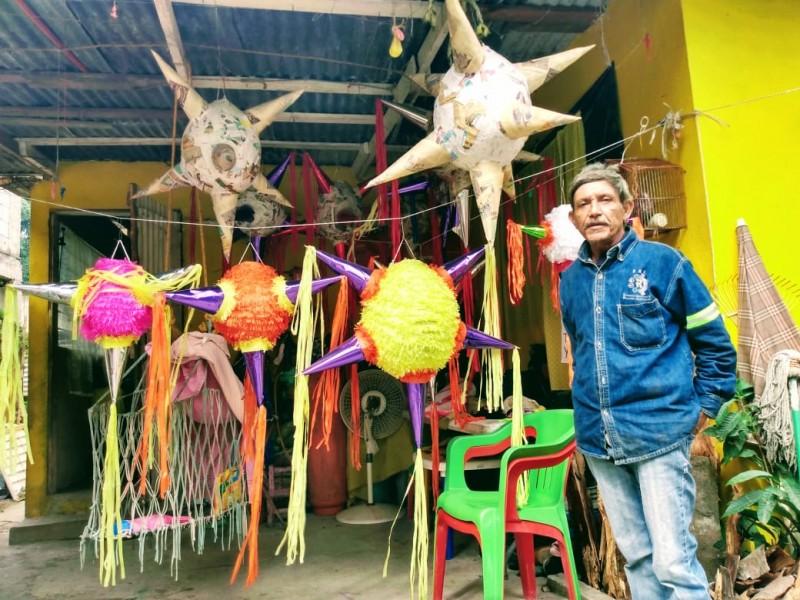 Bajó la demanda de piñatas, tras suspensión de posadas