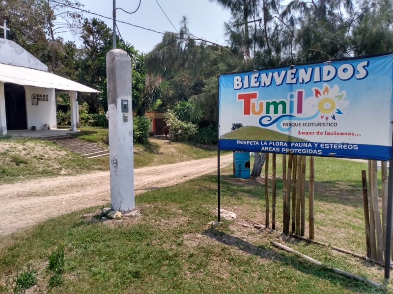 Bajo restricciones se reactiva paulatinamente el turismo en Tumilco
