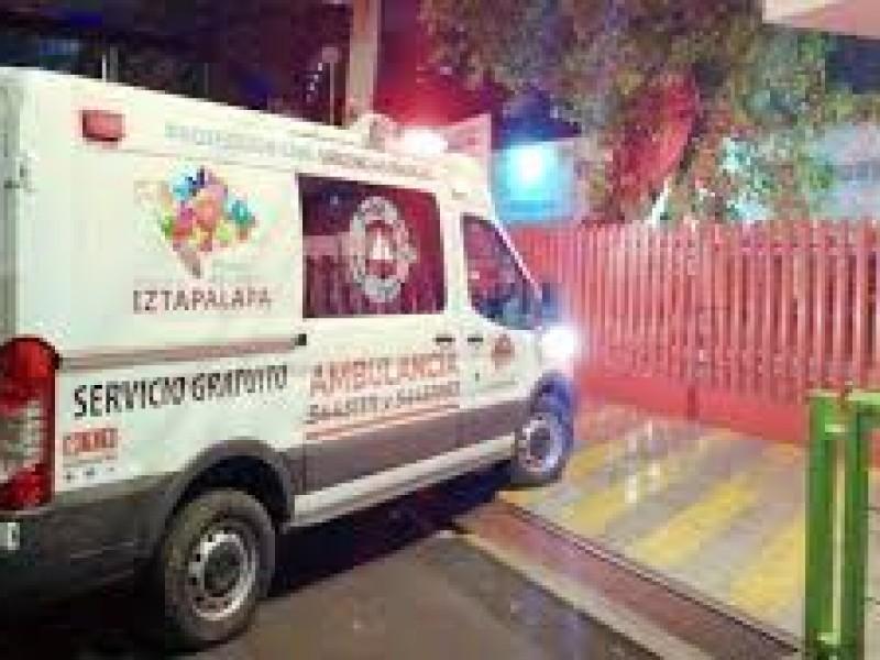 Bala perdida lesiona a niña en Iztapalapa