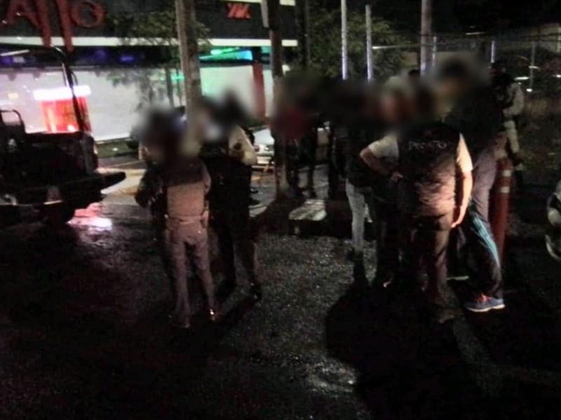 Balacera en bar Pecatto, deja dos personas lesionadas