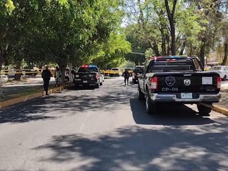 Balacera en Chapalita deja 2 muertos y un herido