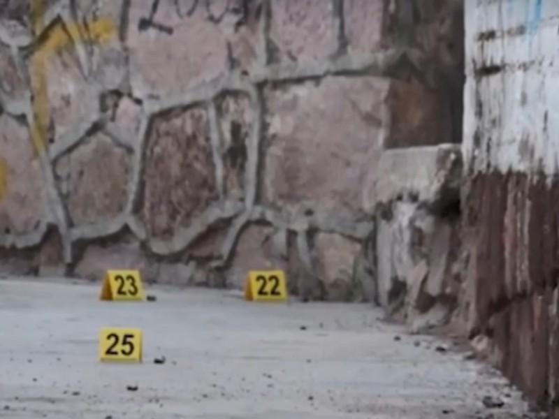 Balacera en Guadalupe, un muerto y un herido