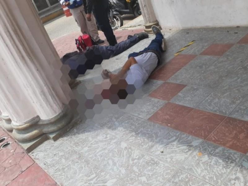 Balacera en Palacio municipal de Cosamaloapan, Veracruz
