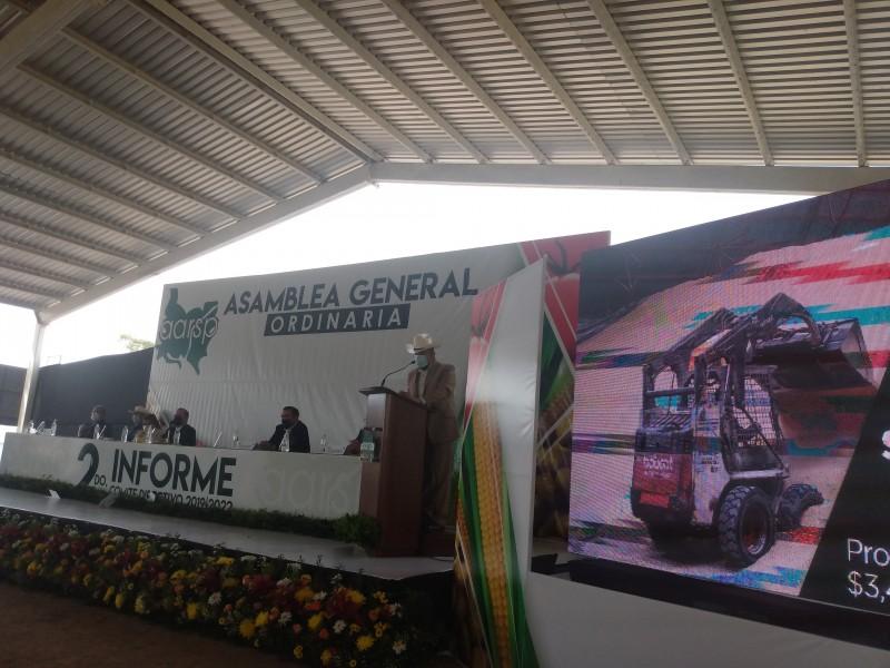 Baltazar Aguilasocho rinde segundo informe de labores en la AARSP
